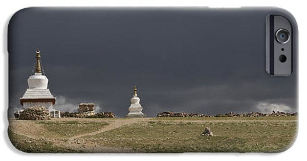 Tibetan Buddhism iPhone Cases - Namtso In The Nyainqentanglha Mountain iPhone Case by Phil Borges