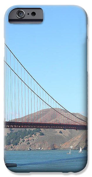 NASA Space Shuttle's Final Hurrah Over The San Francisco Golden Gate Bridge iPhone Case by Wingsdomain Art and Photography