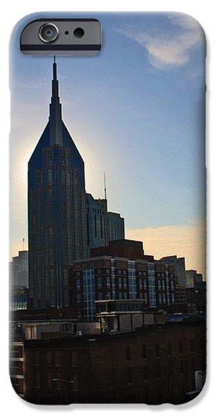 Nashville Skyline iPhone Case by Susanne Van Hulst
