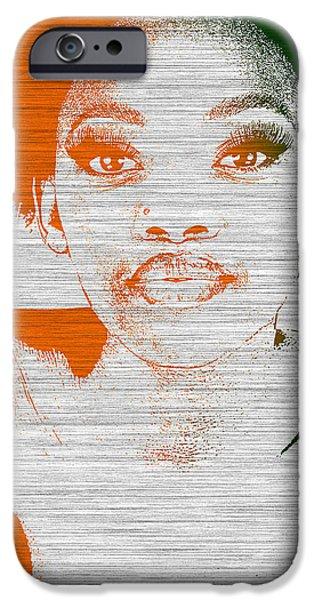 Natasha iPhone Case by Naxart Studio