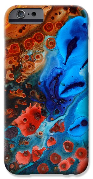 Earth Tone Art iPhone Cases - Natural Formation iPhone Case by Sharon Cummings