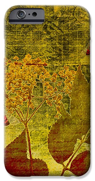 Nature at Work iPhone Case by Bonnie Bruno