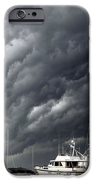 Natures Fury iPhone Case by KAREN WILES