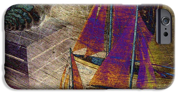 Toy Store Photographs iPhone Cases - Nautica-III iPhone Case by Susanne Van Hulst