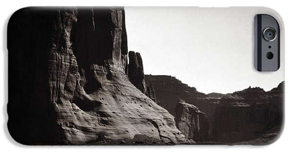 Native iPhone Cases - Navajos: Canyon De Chelly, 1904 iPhone Case by Granger