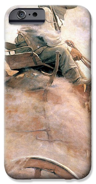 1907 iPhone Cases - N.c. Wyeth: Ore Wagon iPhone Case by Granger