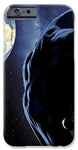 Near-earth Asteroid, Artwork iPhone Case by Detlev Van Ravenswaay