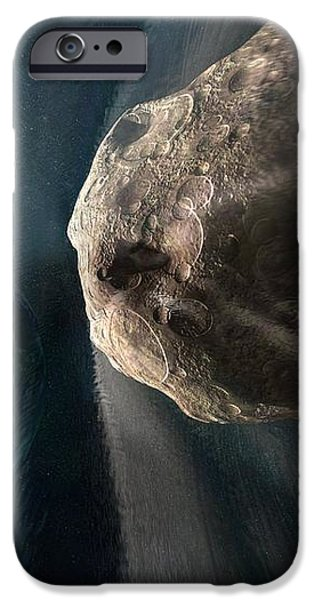 Near-earth Asteroid, Artwork iPhone Case by Henning Dalhoff