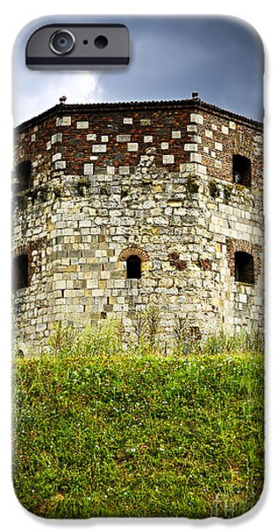 Dungeons iPhone Cases - Nebojsa tower in Belgrade iPhone Case by Elena Elisseeva