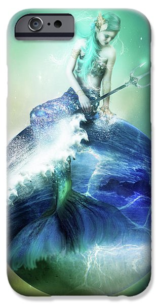 Planet iPhone Cases - Neptune iPhone Case by Karen H