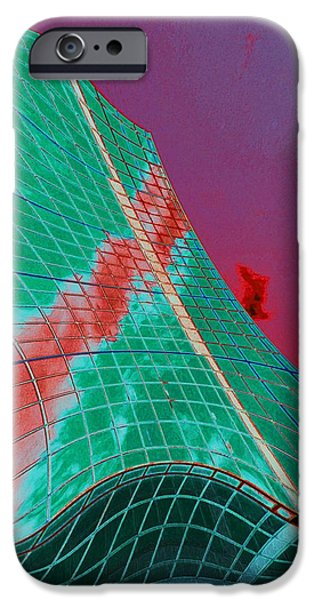 Finance iPhone Cases - New Architecture iPhone Case by Marcia Lee Jones