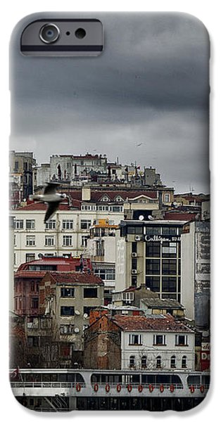 New District Skyline iPhone Case by Joan Carroll