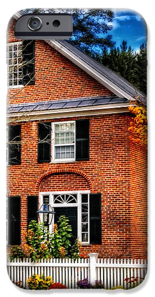New England Brickhouse iPhone Case by Thomas Schoeller