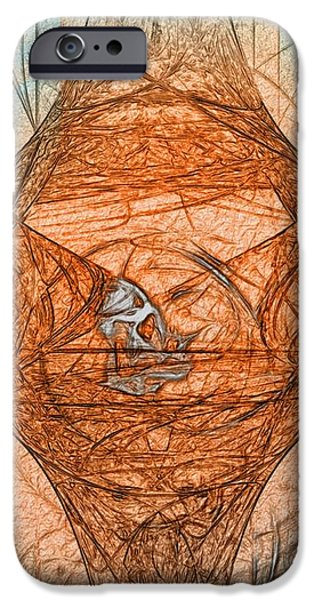New Expression 2011 Series No.2  -  Very Extravagant iPhone Case by Michael C Geraghty