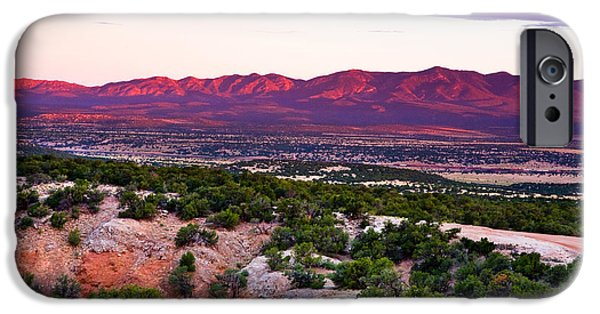 New Mexico iPhone Cases - New Mexico Sunset iPhone Case by Matt Suess