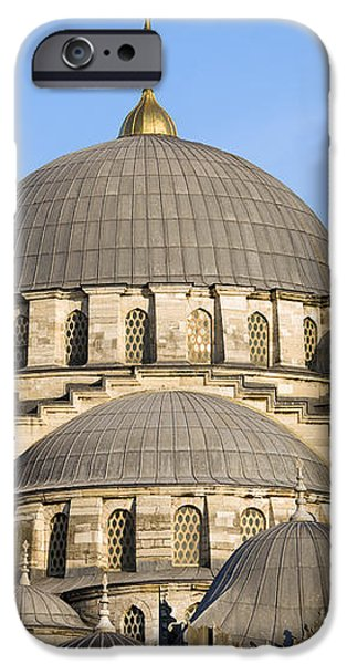 New Mosque in Istanbul iPhone Case by Artur Bogacki
