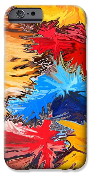 Celebrate Mixed Media iPhone Cases - New Years iPhone Case by Chris Butler