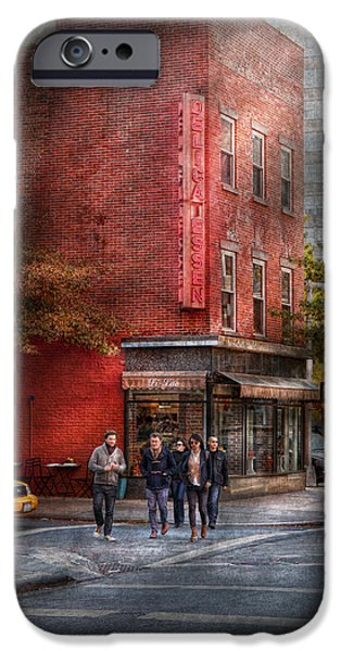 Delicatessen iPhone Cases - New York - Store - The old delicatessen iPhone Case by Mike Savad