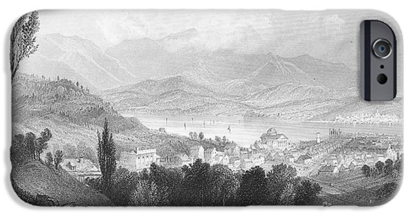 1839 iPhone Cases - New York: Catskills, 1839 iPhone Case by Granger