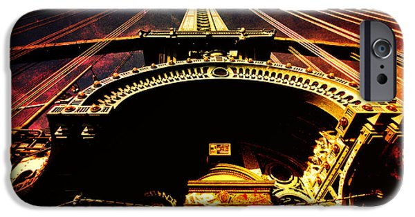 Science Fiction Photographs iPhone Cases - New York City Architecture iPhone Case by Vivienne Gucwa