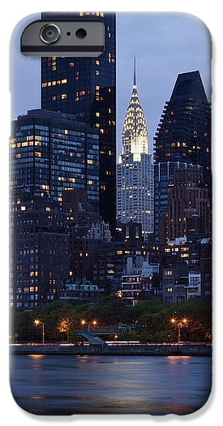 New York City From Across the Water iPhone Case by Bryan Mullennix
