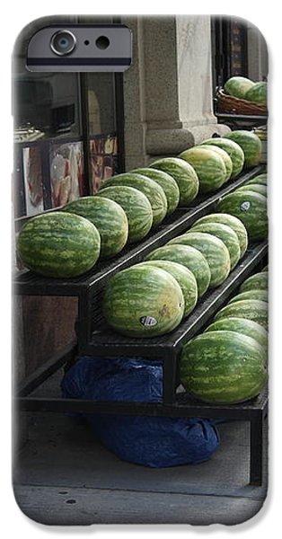 New York City Market iPhone Case by Frank Romeo