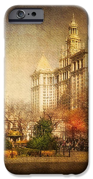 New York in April iPhone Case by Svetlana Sewell