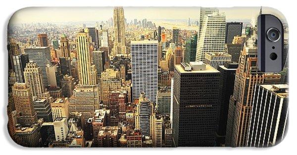 Nyc Rain iPhone Cases - New York iPhone Case by Svetlana Sewell