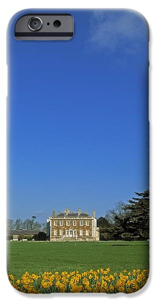 Newbridge House, Donabate, Co Dublin iPhone Case by The Irish Image Collection