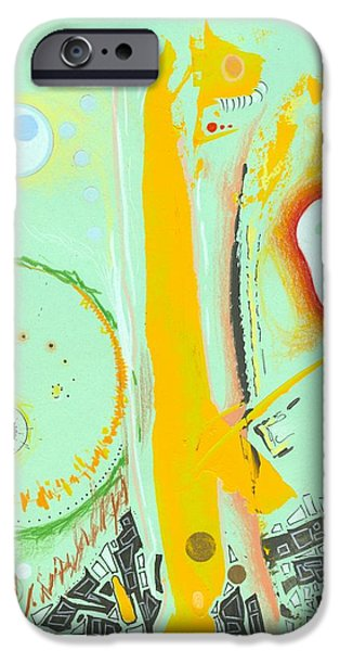 Eerie Drawings iPhone Cases - Next Level Boss iPhone Case by Ralf Schulze
