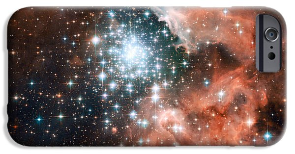 Forming iPhone Cases - Ngc 3603, Giant Nebula iPhone Case by Nasa