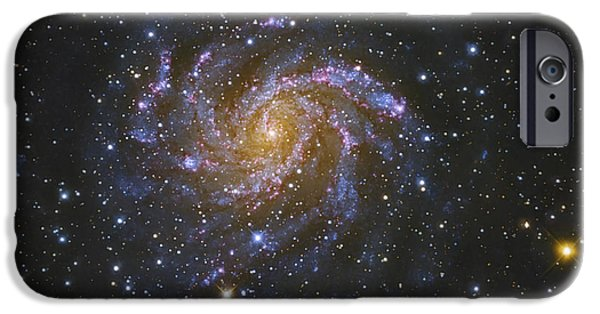 Forming iPhone Cases - Ngc 6946, Also Known As The Fireworks iPhone Case by Robert Gendler