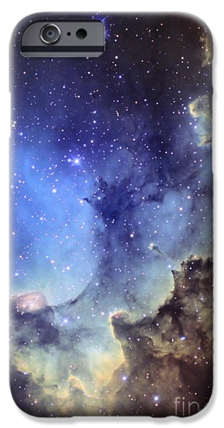 Forming iPhone Cases - Ngc 7380 Emission Nebula In Cepheus iPhone Case by Ken Crawford