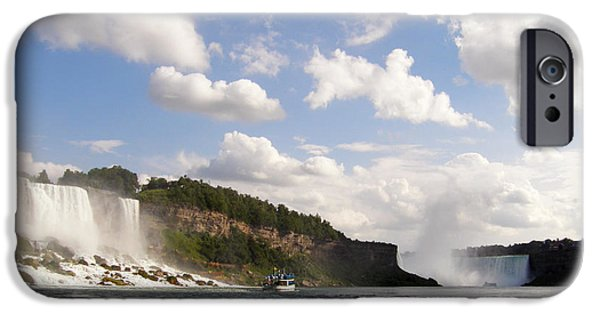 Best Sellers -  - Beauty Mark iPhone Cases - Niagara Falls View from the Maid of the Mist iPhone Case by Mark J Seefeldt