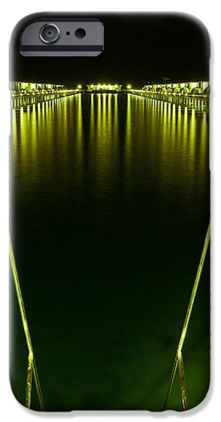 Night. One Day in Paradise. Maldives iPhone Case by Jenny Rainbow