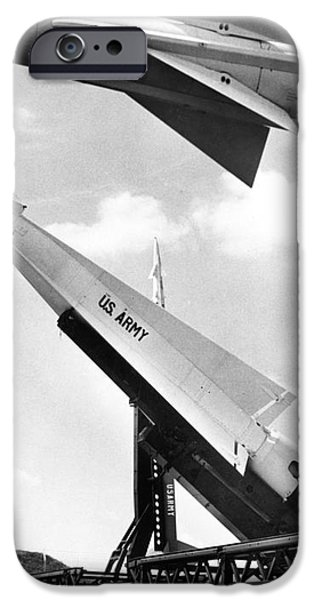 NIKE MISSILE, c1959 iPhone Case by Granger