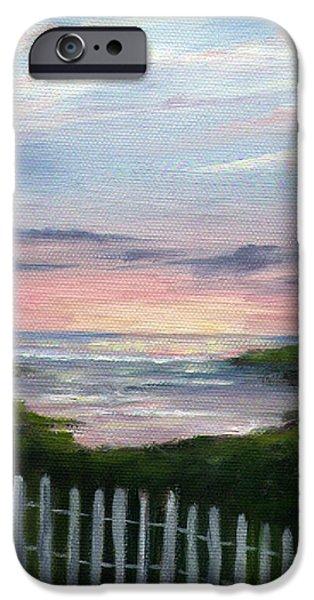 Niki's Beach iPhone Case by Rosie Brown