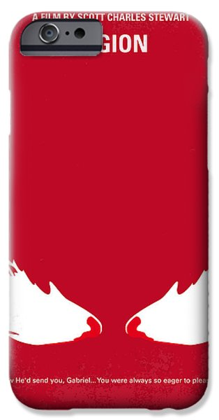 Michael iPhone Cases - No050 My legion minimal movie poster iPhone Case by Chungkong Art