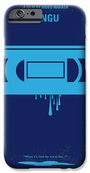Drama iPhone Cases - No070 My Ringu minimal movie poster iPhone Case by Chungkong Art