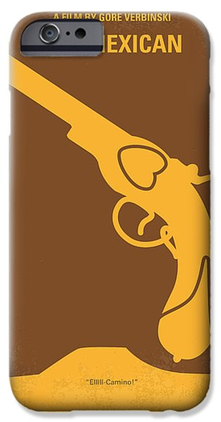 Drama iPhone Cases - No077 My THE MEXICAN minimal movie poster iPhone Case by Chungkong Art