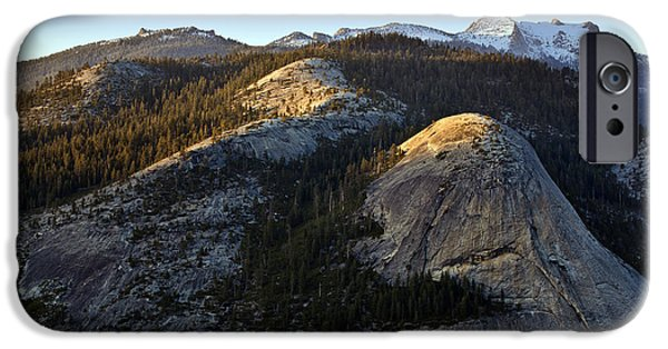 Epic Photographs iPhone Cases - North Dome at Sunset iPhone Case by Rick Berk