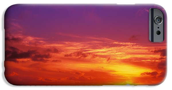 Vince iPhone Cases - North Shore Sunset iPhone Case by Vince Cavataio - Printscapes