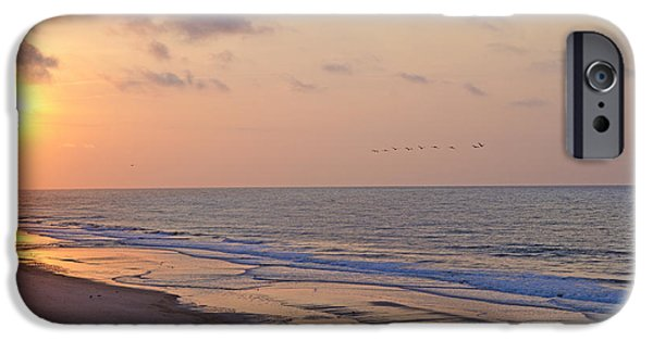 Pleasure iPhone Cases - North Topsail Beach Glory iPhone Case by Betsy A  Cutler