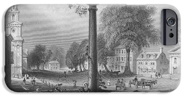 1839 iPhone Cases - Northampton, 1839 iPhone Case by Granger
