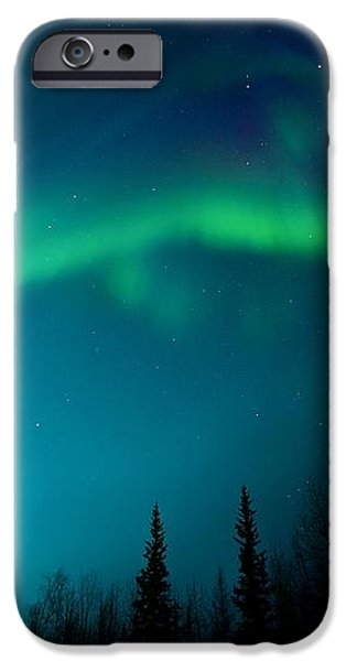 northern magic iPhone Case by Priska Wettstein