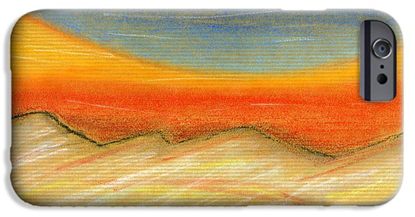 Norway Pastels iPhone Cases - Northern Midnight iPhone Case by Hakon Soreide