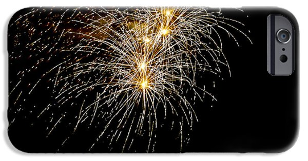 July 4th Digital Art iPhone Cases - Northern Star iPhone Case by Phill  Doherty