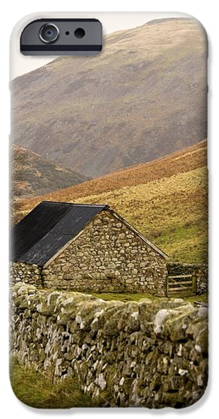 Northumberland, England Stone House iPhone Case by John Short