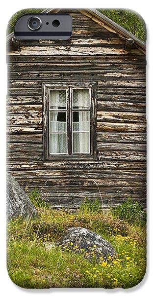 Norwegian Timber House iPhone Case by Heiko Koehrer-Wagner