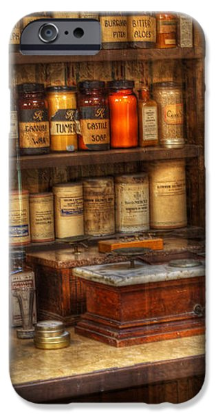 Nostalgia Pharmacy 2 iPhone Case by Bob Christopher